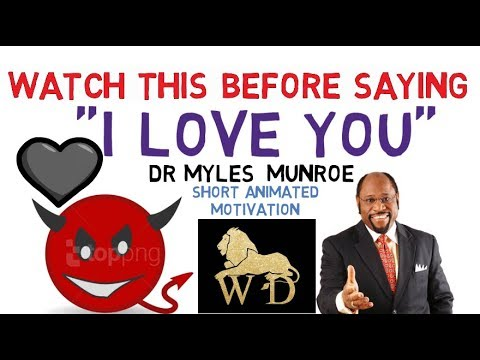 WARNING!!! BEWARE OF HYPOCRITES IN LOVE AND RELATIONSHIP - DR MYLES MUNROE (WOW!)