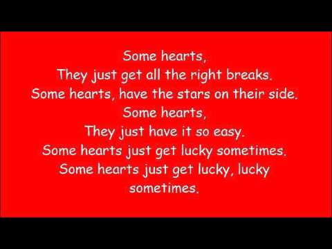 Carrie Underwood ~ Some Hearts (Lyrics)