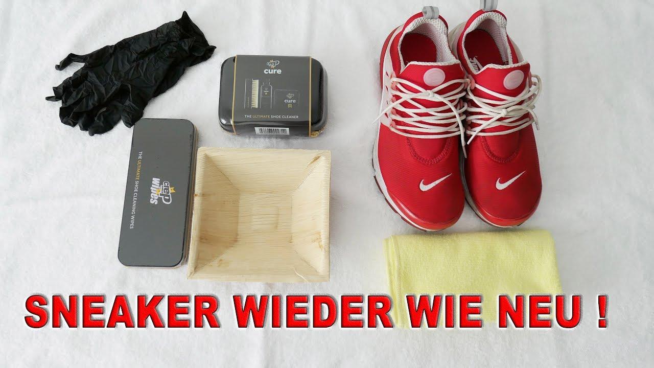 Wie macht man Sneaker sauber ? - YouTube