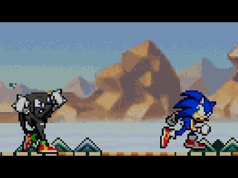 Sonic Advance 2 - Part 5 - Sky Canyon Zone - Egg Saucer - Special Stage 5