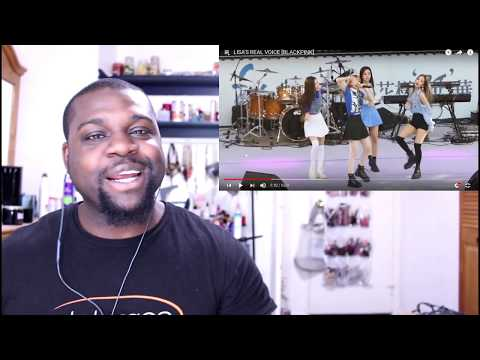 LISAS REAL VOICE  BLACKPINK Reaction