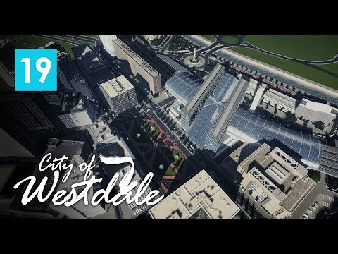 Cities Skylines: City of Westdale EP19 - Berlin Hauptbahnhof, Downtown preview