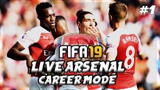 FIFA 19 LIVE Arsenal Career Mode #1 | 💥AFTV Young Gunz💥