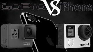 IPHONE 7 - ЗАМЕНА ЛЮБОЙ КАМЕРЕ? Стоит Ли Покупать GoPro Hero 5 И Сравнение С Hero 4