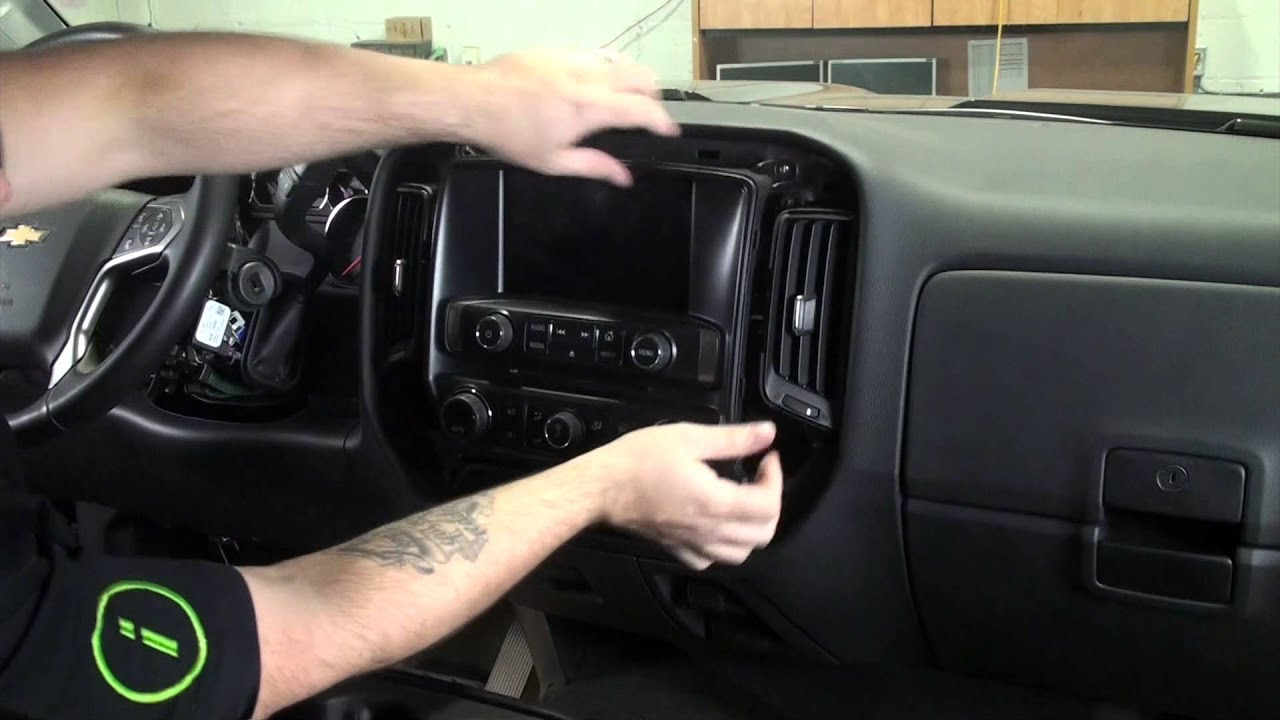 2015 Chevrolet 2500hd Maestro Gm3 Installation Part 2 Radio Removal 2005 Silverado Factory Stereo Wiring
