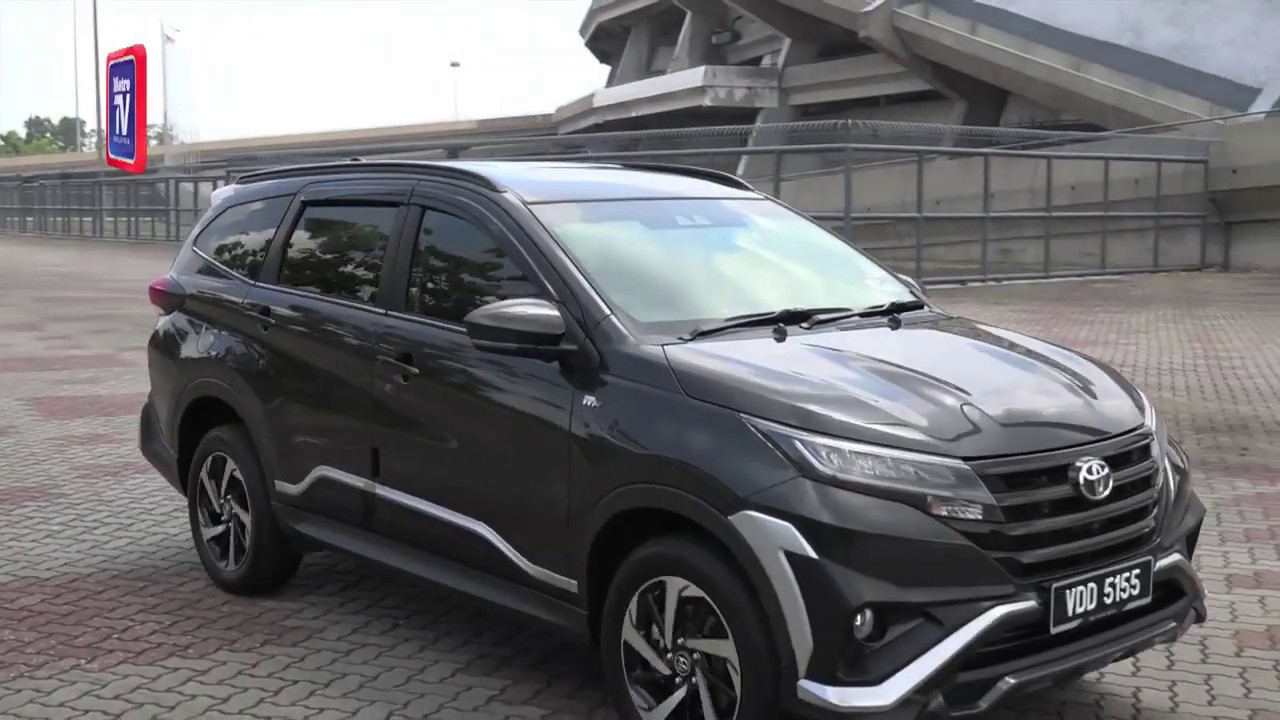 Toyota Rush Serba Baharu Suv Praktikal Youtube