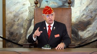 National Commander addresses The American Legion National Executive Committee