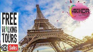 Eiffel Tower Paris in 4K, France