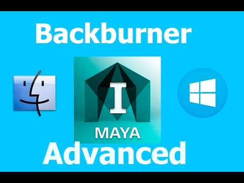 Maya Backburner on Mac to PC Farm Part I