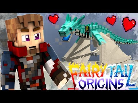 "Minecraft FAIRY TAIL ORIGINS #11 ""CUTE BABY DRAGON!"" (Minecraft Modded Roleplay) S3E11"
