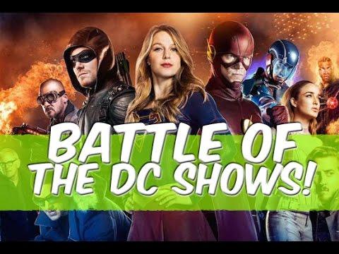 Supergirl VS The Flash VS Arrow VS Legends! Who Wins? - Battle Of The Shows!