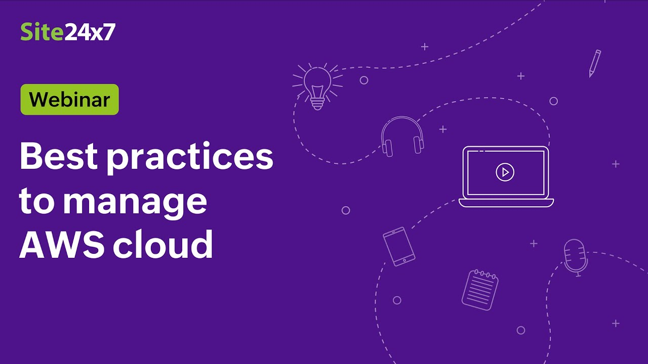 [Webinar] Best practices to manage AWS cloud