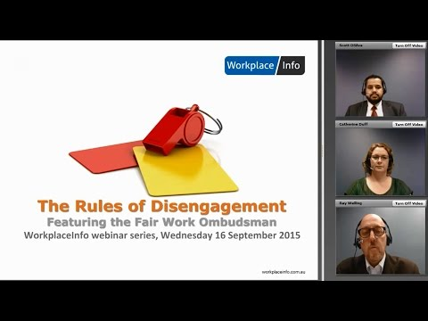 Webinar | FWO Speaks About Termination of Employment (16 Sep