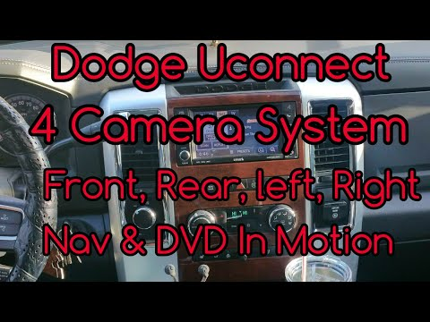 MYGIG Lock pick 2011 Dodge Uconnect with a 4 Camera System