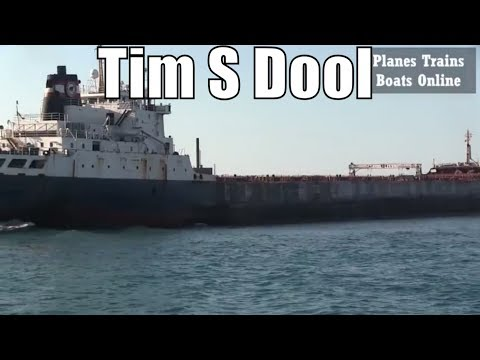 1967 Tim S Dool - 730ft / 222.5m - Bulk Carrier Cargo Ship In Great Lakes May 17 2018