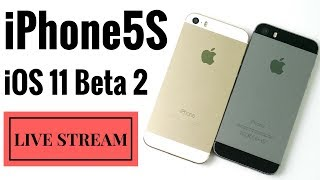 iPhone 5S iOS 10.3.2 vs iPhone 5S iOS 11 Beta 2 - LIVE