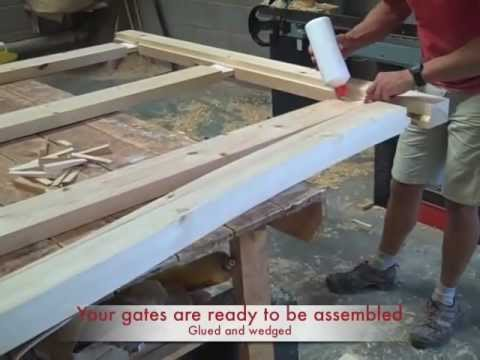 "Wooden gates by ""Wooden Gate Makers"""