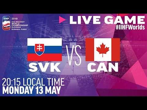 Slovakia Vs. Canada | Full Game | 2019 IIHF Ice Hockey World Championship