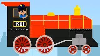 Brick Train Build Game 4 Kids - Build,Sim,Race Your Own Train! - Amazing Train Game for Kids screenshot 4