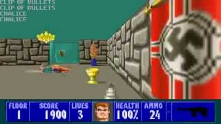Wolfenstein 3D - Episode 5, Floor 1