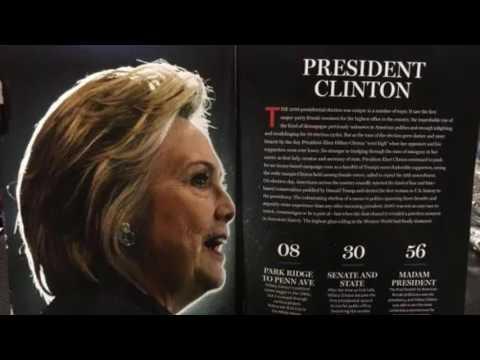 """Madam President"" Newsweek Magazine Leaked Online"