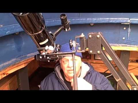 Parallelogram mount for telescope