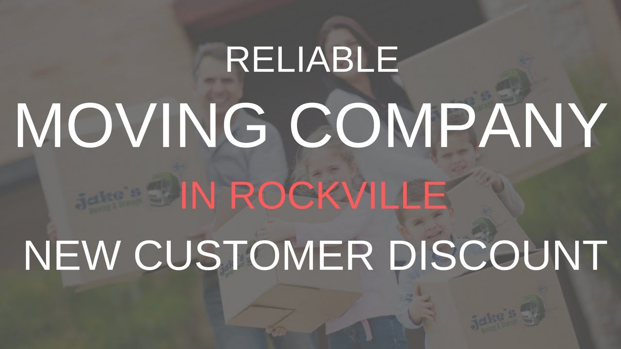 Reliable Moving Company In Rockville   (301) 424 1410   Jakeu0027s Moving And  Storage