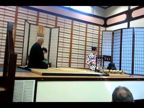 Omotosenke Domonkai Tea Ceremony Demonstration 2014 SF Cherry Blossom Festival
