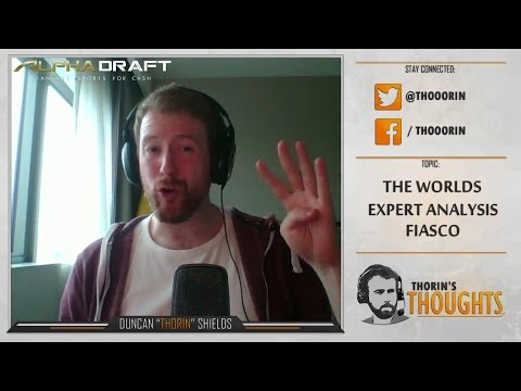 Thorin's Thoughts - The Worlds Expert Analysis Fiasco (LoL)