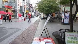 충북도당 청주 롯데시네마 서명대