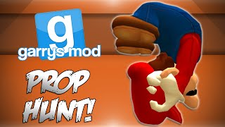 GMod Prop Hunt! - GIANT MARIO! (Garrys Mod Funny Moments)
