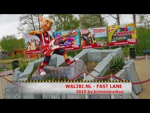 WALIBI Holland NL -  FAST LANE - Coaster Onride Mix 2015 by kirmesmarkus
