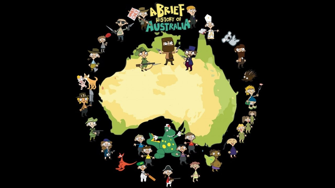 Map Of Australia Youtube.A Brief History Of Australia