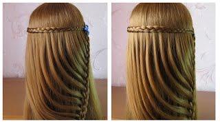 Tuto coiffure tresse facile ✿ Coiffure simple et rapide a faire soi meme/cheveux long