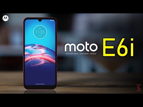 Moto E6i Price, Official Look, Design, Specifications, Camera, Features