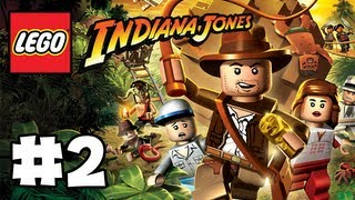 LEGO Indiana Jones - The Original Adventure - Part 2 -  Fire! (HD Gameplay Walkthrough)