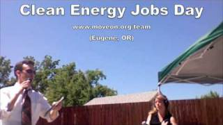 MoveOn.org Clean Energy Jobs Day in Eugene, OR (SeQuential Biofuels)