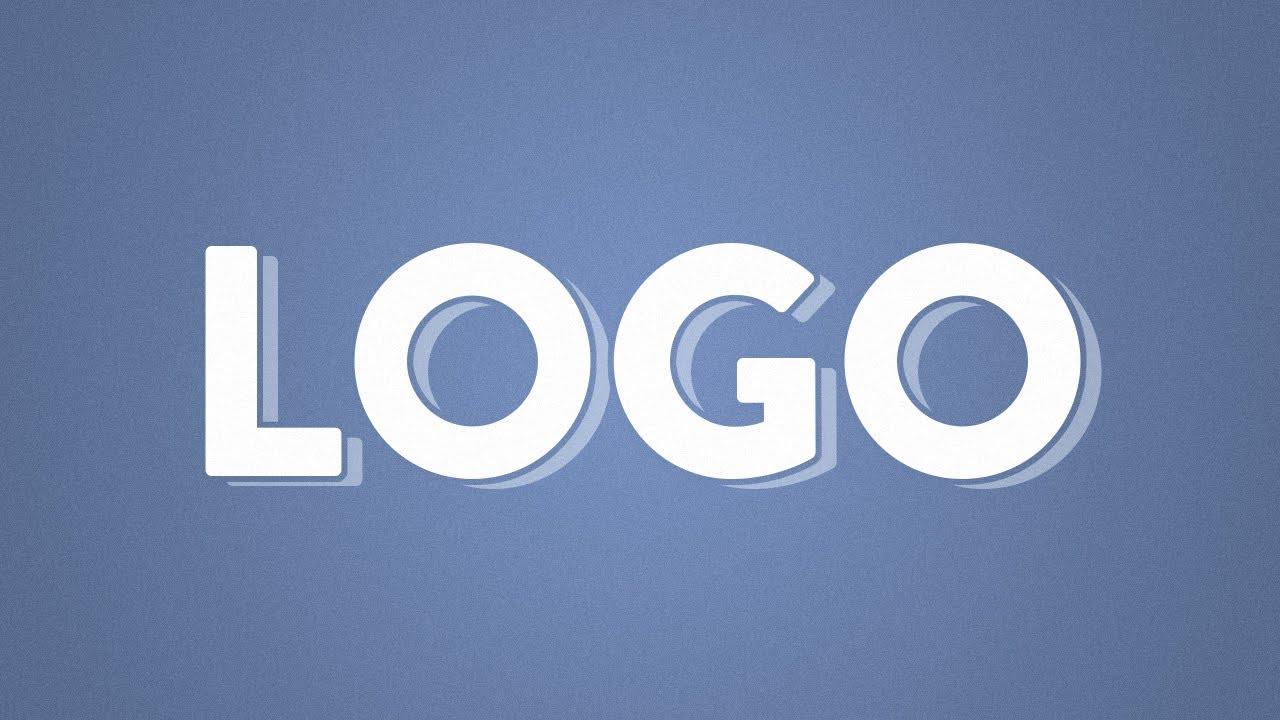 Illustrator CC CS6 : Logo Text Effect Tutorial - YouTube