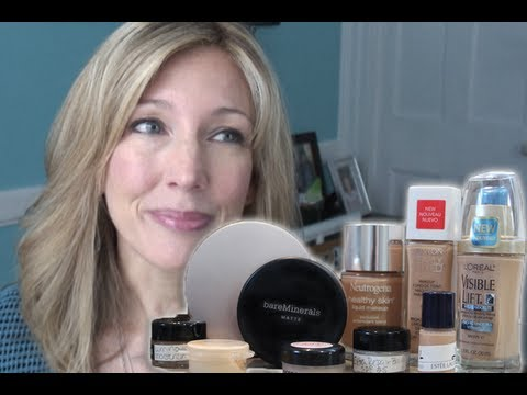 Best foundation for over fifty skin