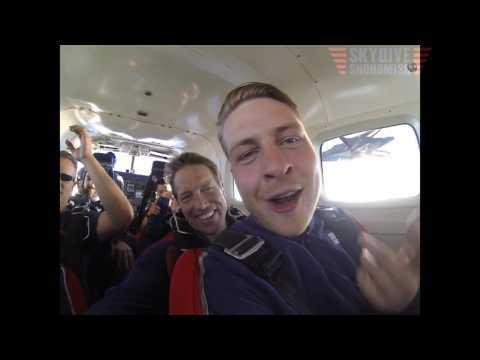 Peter Eggers's Tandem skydive!