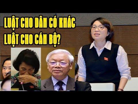 Nữ đại biểu Quốc hội làm Nguyễn Phú Trọng và Nguyễn thị Kim Ngân mất ngủ