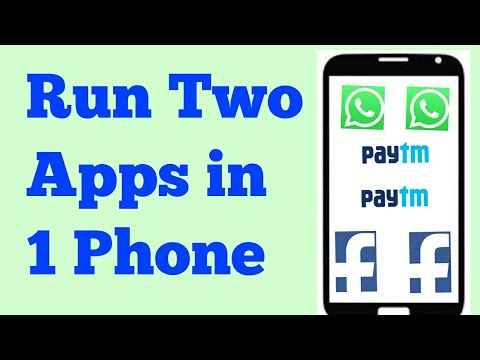 Run any two app in 1 phone