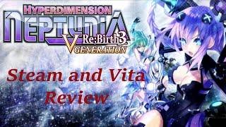 ★ Hyperdimension Neptunia Re;Birth3: V Generation 🌠 Review | Vita & Steam {English, Full 1080p HD}