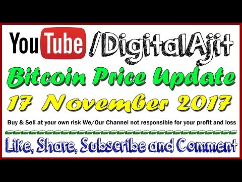 Bitcoin Price Analysis 17 November 2017 Resistance  8087, 8169