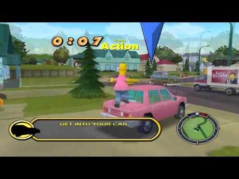 The Simpsons Hit & Run Donut Mod