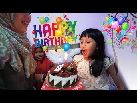 Selamat Ulang Tahun Mecca ke 7 | Happy Birthday Mecca 7th surprise party