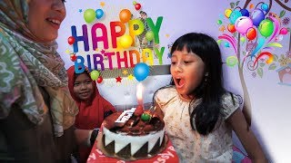 Video Selamat Ulang Tahun Mecca ke 7 | Happy Birthday Mecca 7th surprise party download MP3, 3GP, MP4, WEBM, AVI, FLV Maret 2018