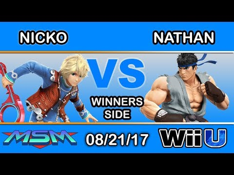 MSM 110 - FAD | Nicko (Shulk) Vs. RCS | Nathan (Ryu, Cloud) Winners Side