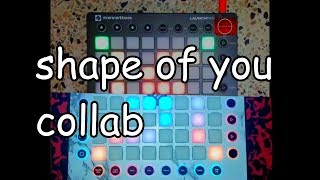 SHAPE OF YOU ED SHEERAN COLLAB LAUNCHPAD COVER
