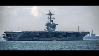 NNS - USS Theodore Roosevelt (CVN 71) Sea Trials After Refueling & Complex Overhaul [1080p]